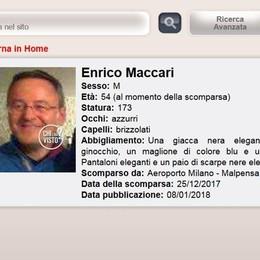 Trovato morto a Milano  il manager di Porlezza  scomparso a Natale