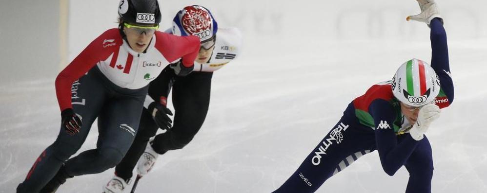 Europei di short track, Valcepina show: doppio oro nei 500 e 1500 metri
