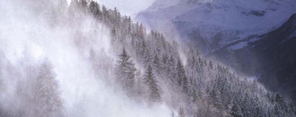 Tratto di statale 36 chiuso per bufera di neve, al lavoro anche i trattori Coldiretti
