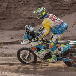 Dakar, Cerutti sale ancora  Ora è nella top 20 moto