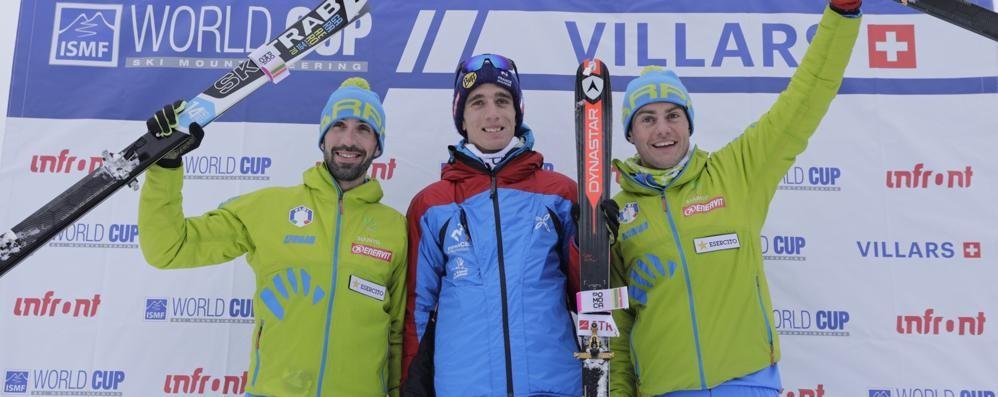 Antonioli e Boscacci partono forte. Subito argento e bronzo in Coppa