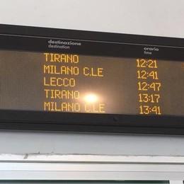 Il treno delle 5,32 non c'è. E in serata caos per un investimento