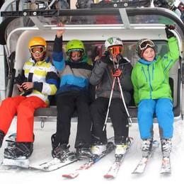 Stagione dello sci, il Bim conferma lo skipass under 16
