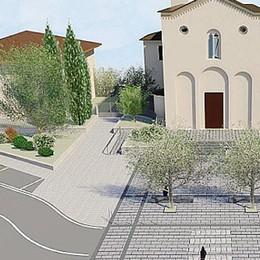 Piazza della Chiesa, ecco il progetto  Dalla giunta arriva il primo sì ai lavori