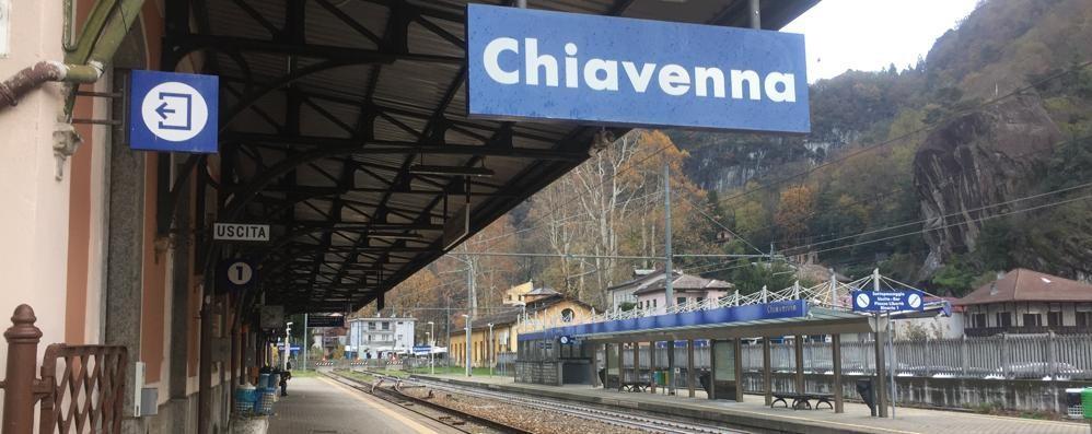 Altra giornata di follia sui treni, Valchiavenna sul piede di guerra