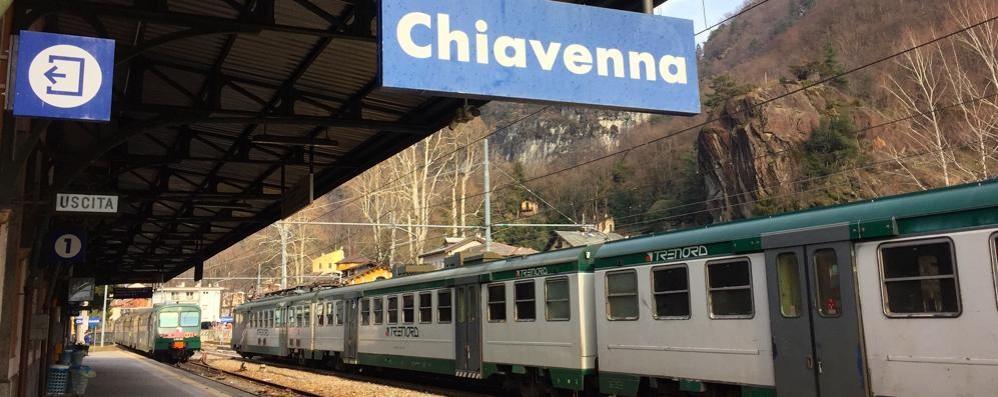 Colico-Chiavenna, neanche un treno  Dei bus sostitutivi nemmeno l'ombra