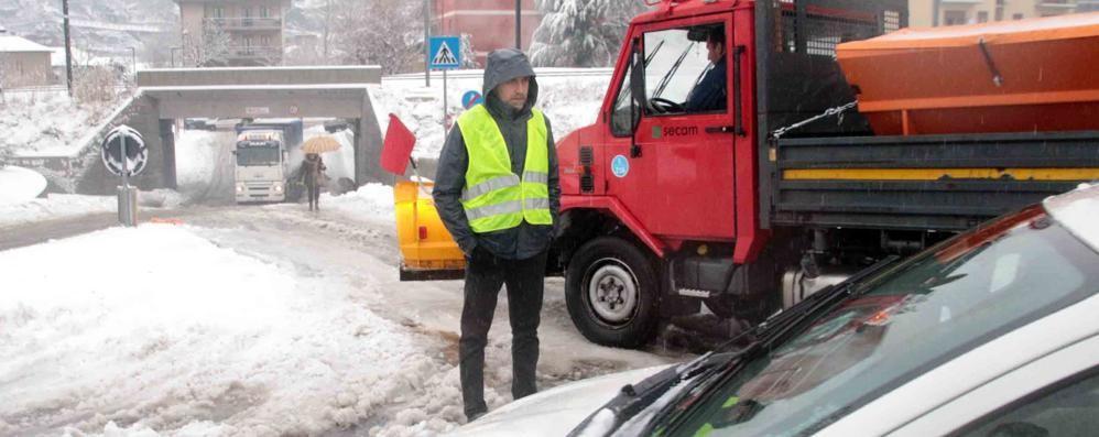Sgombero neve, appalti più ricchi