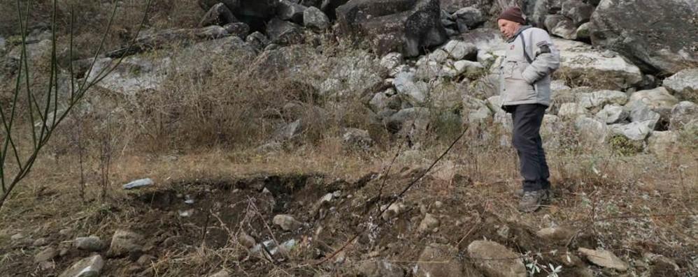 Frana a Cataeggio: scuola chiusa e dodici evacuati