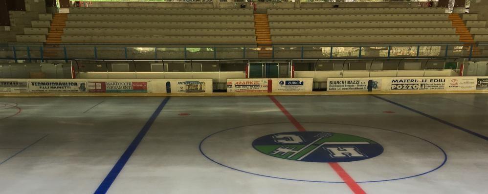 Chiavenna, aperta la pista del ghiaccio  Ma si riflette sui costi dell'impianto