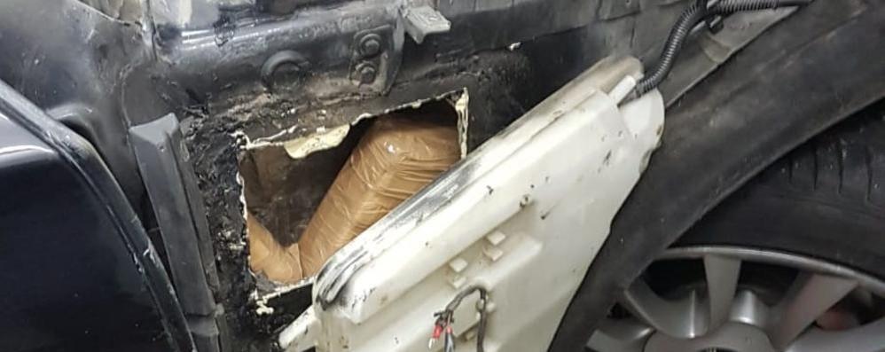 Nella Bmw tre kg di cocaina Arrestato trafficante a Brogeda