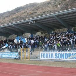 Calcio, momenti di nervosismo nel match Sondrio-Como