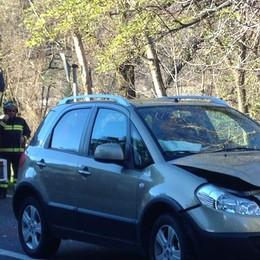 Prata, violento incidente sulla statale fra due auto