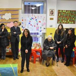 Sondrio, l'asilo di via Gianoli ricorda la maestra Luisa: «Un esempio per tutti»