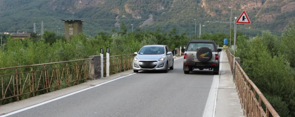 Trivulzia, abbassati i limiti di velocità  La Provincia interviene a Samolaco