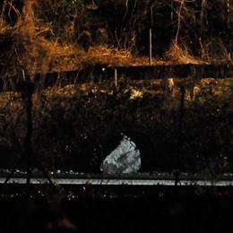 Cadono massi a Novate, chiuse ferrovia e statale 36