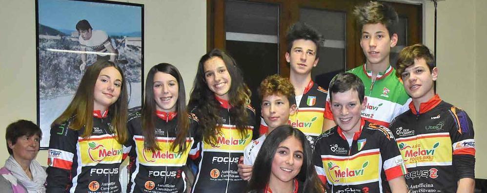 La Federazione premia i ciclisti valtellinesi  «Una realtà in crescita»