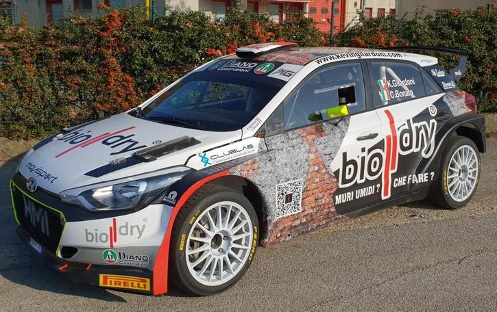 Gilardoni al Rally di Monza «Aspetto Valsecchi per sfidarlo»