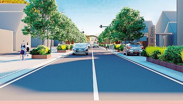 Aprica ridisegna tutto il corso Roma  «Strada più stretta ma più sicura»