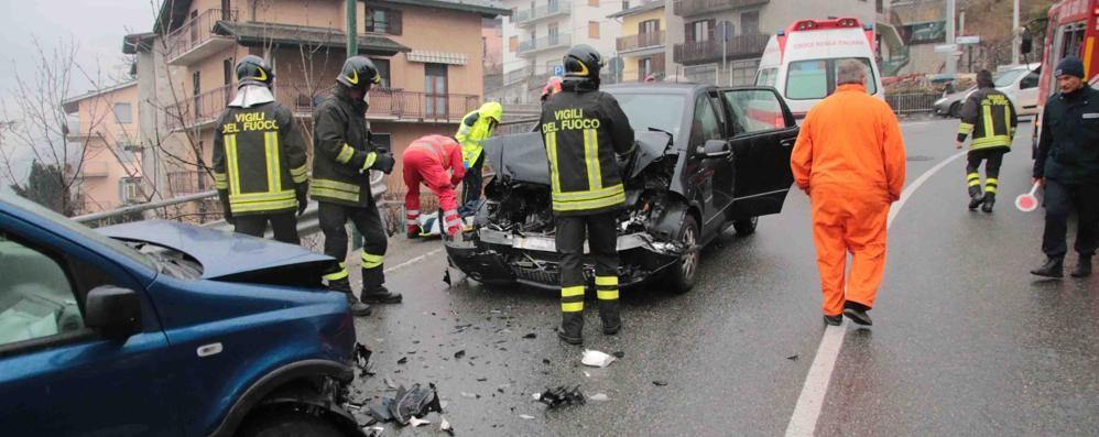 Ancora un frontale, incidente a Montagna in Valtellina