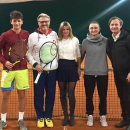 Vip del tennis sul Lario Giorgi ospite di Villa d'Este