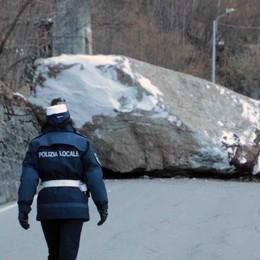 Rientrate le famiglie evacuate   Anche la strada è stata liberata