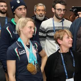 Olimpiadi, dallo sport italiano  l'applauso alla Fontana