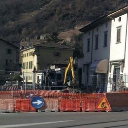 Cantiere aperto in piazza Basilica  «Una zona a misura di pedone»