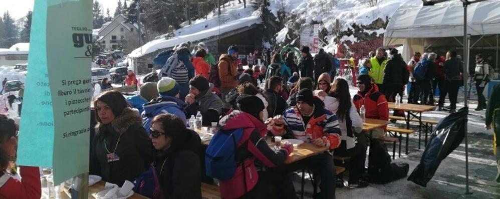 In marcia sulla neve, otto tappe golose e il turismo vola