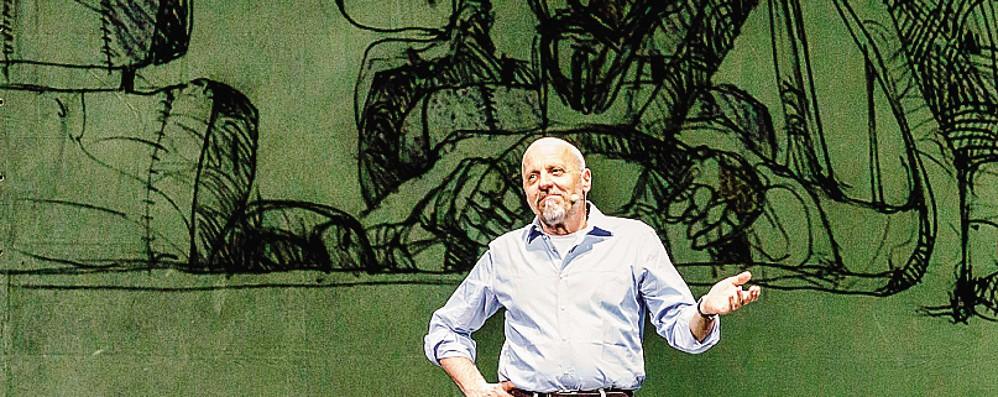 Marco Paolini porta in teatro a Sondrio la fantascienza