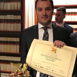 "Sosio in nomination per il ""Leone d'Oro"" all'imprenditoria"