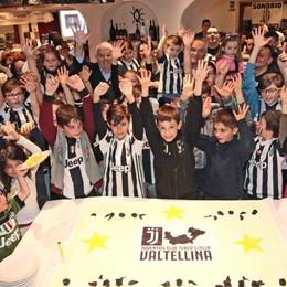 Calcio, festa con record per lo Juventus club Terza Stella