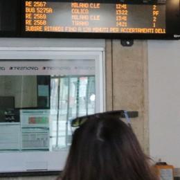 Il treno mai partito, a piedi anche una scolaresca