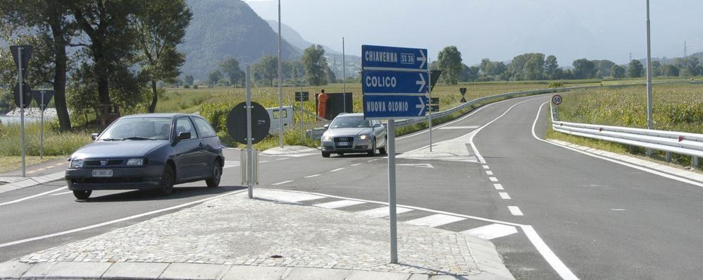 Accesso al paese da via Valeriana  Tornano le auto