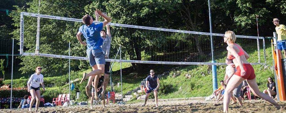 Area Porettina, sarà come stare al mare  Una piscina e campi per il beach volley