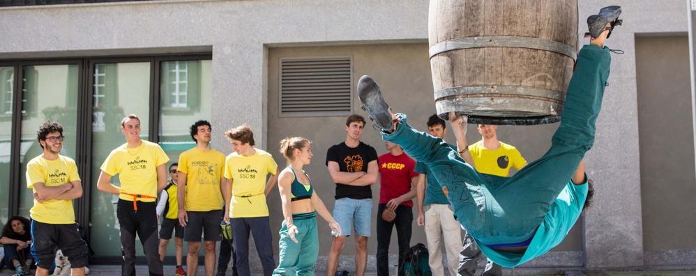 """""""Street climbing"""", la città sale in verticale"""