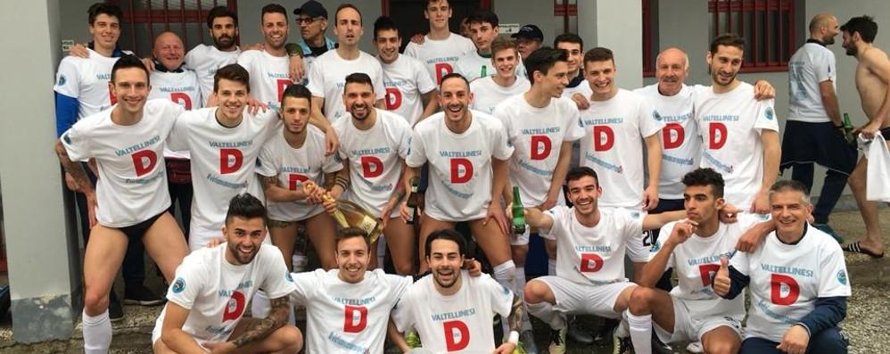 Calcio: Sondrio promosso in serie D