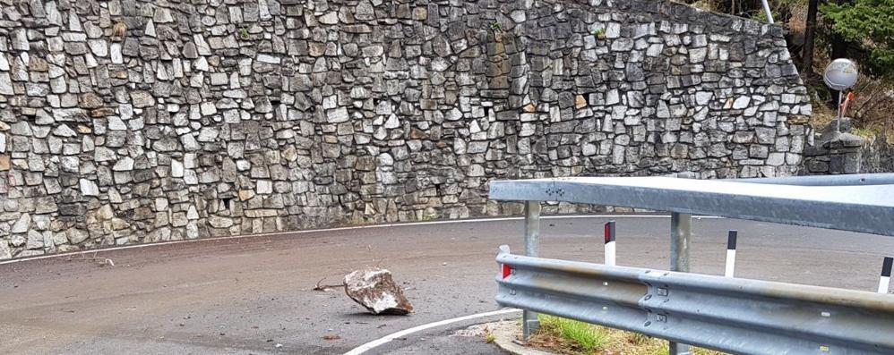 Frana a Gallivaggio: evacuati Santuario   casa del parroco e ristorante