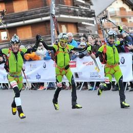 Scialpinismo, Boscacci e Antonioli superstar in Svizzera