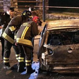 Auto in fiamme a Chiuro, giovane è gravissimo