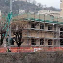 Casa della musica di Sondrio, a nuovo anche il tetto
