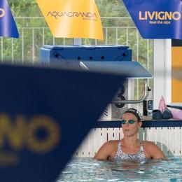 Federica Pellegrini a Livigno  In  arrivo anche la nazionale Ceca