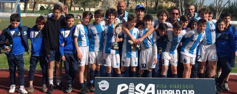 Calcio, talenti del Sondrio protagonisti a Pisa
