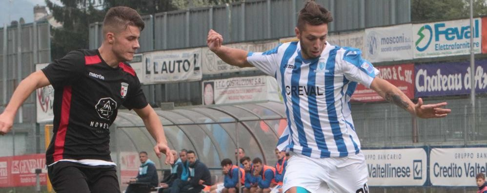 Calcio, primo match point per il Sondrio