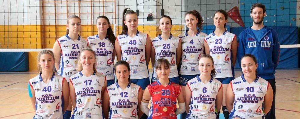 Volley, il titolo di Seconda divisione alla Pgs Auxilium