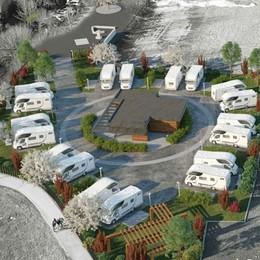 Sondrio, pronta per fine anno l'area camper: a due passi dal sentiero Valtellina