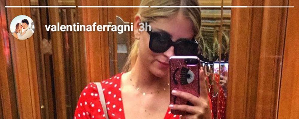 Valentina Ferragni Torna a Tremezzo
