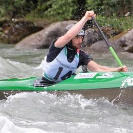 Canoa e kayak, Dell'Agostino subito protagonista