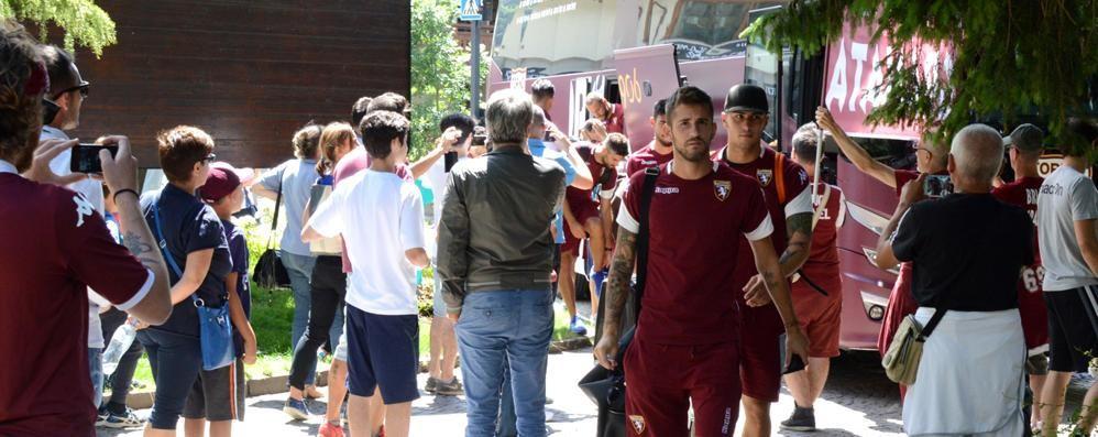 La Bormiese toglie il velo al Torino. In campo già per la prima amichevole