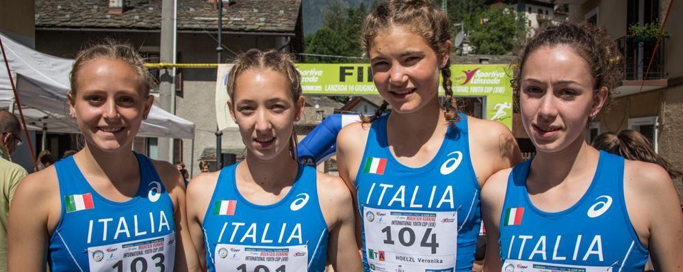 Corsa in montagna, il Mondiale Under 18 si tinge d'azzurro