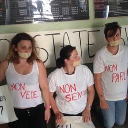 Chiavenna, al settimo giorno di sit-in la protesta entra in ospedale